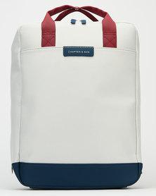 Kapten & Son Malmo Backpack Grey/Blue