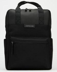 Kapten & Son Bergen Backpack All  Black