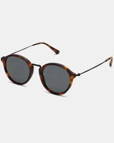 Kapten & Son Maui Sunglasses Matt Tortoise Summernight Black