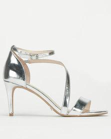 Bata Red Label Strap Detail Heel Silver