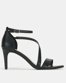 Bata Red Label Strap Detail Heels Black