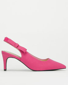 Bata Red Label Sling Back Heel Fuchsia