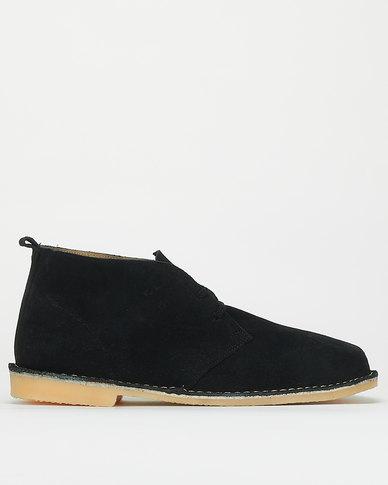 Bata Safari Casual Slip On Shoes Black