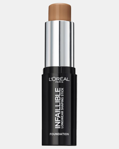 220 Toffee Caramel Paris Makeup Infallible Stick Foundation by L'Oreal