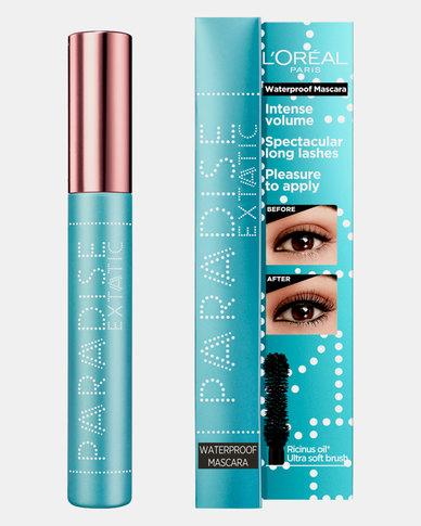 Black Paris Makeup Paradise Mascara Waterproof by L'Oreal