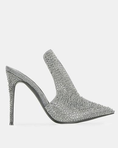 1cb3371850a Steve Madden Sky Dress Heel Silver