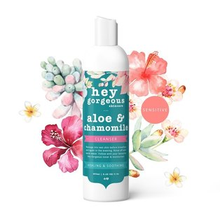 Hey Gorgeous, Aloe & Chamomile Soothing Cleanser