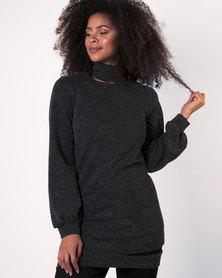 Marique Yssel Desire Tunic Top - Charcoal