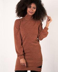 Marique Yssel Desire Tunic Top - Rust