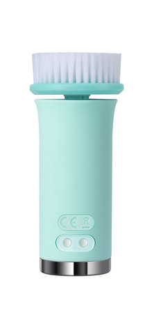 SVK Beauty Enied Exfoliating Rotation & Heating Facial Cleansing Brush Green