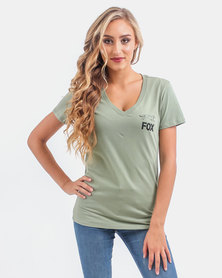 Fox Forge V Neck T-Shirt Combat