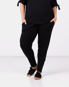 Slick Plus Black Roxanne Classic Pants