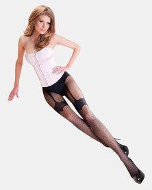 Gabriella Lumia Designer Sheer Stockings Black