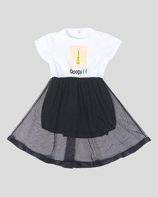 Utopia Girls Tulle Skater Skirt Black