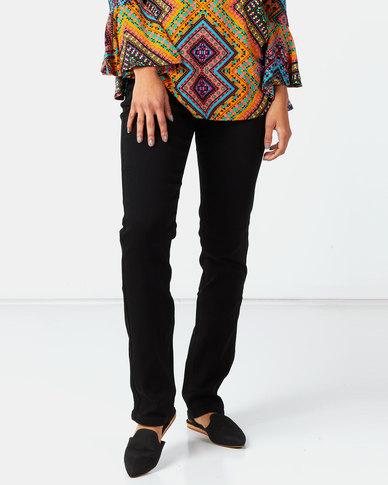 Queenspark Core Denim Woven Jeans Black