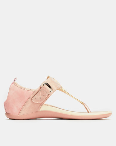 Butterfly Feet Kusha Wedges Pink