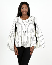 herRitual Ralelela Cape Cream Acrylic/wool blend