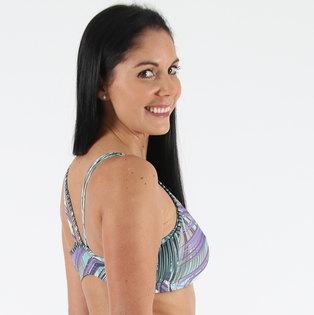Shakti Shanti Brazilian Mesh Bra Tropical