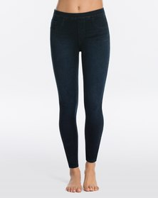 Spanx Jeanish Ankle Leggings - Twilight Rinse