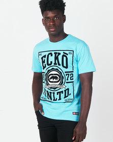 Ecko Unltd Colourblock Tee Blue