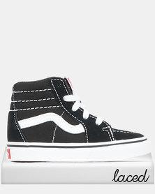 Vans Boys TD SK8-Hi Sneaker Black/True White