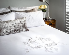 Bella Linen Windsor Duvet Set - Queen