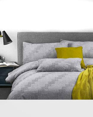 Bella Linen Nordic 100% Cotton Jacquard Duvet Set - Double