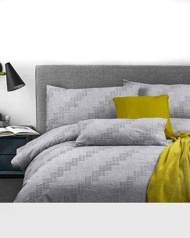 Bella Linen Nordic 100% Cotton Jacquard Duvet Set - Queen