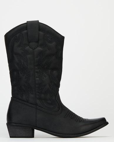 Bronx Women Westee 8 Boots Black