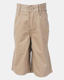 Vans Boys Authentic Military Shorts Khaki