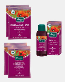 Kneipp Pure Bliss Bath Gift Set of 5