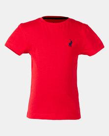 Polo Boys Rick Short Sleeve Tee Red