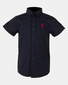 Polo Boys Denis Short Sleeve Shirt Navy