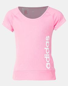 adidas Performance YG GU Tee Pink