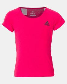 adidas Performance YG Prime Tee Pink