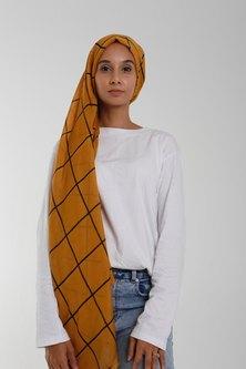 Valenci Grazia Mustard/Black Hijab