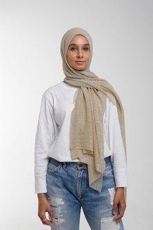 Valenci Shimmery Gold Hijab