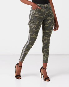 Sissy Boy Army Under Cover Ryder Cargo Pants In Camo Green