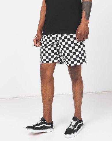 Vans Range Shorts Black/White