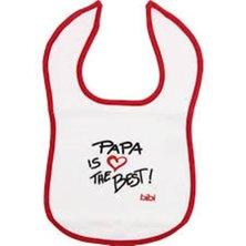Bibi  Papa is the best bib