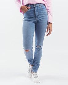 Levi's ® Mile High Super Skinny Jeans Ontario Summer Blue