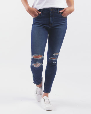 Levi's ® 721 High Rise Skinny Ankle Jeans Carbon Waters