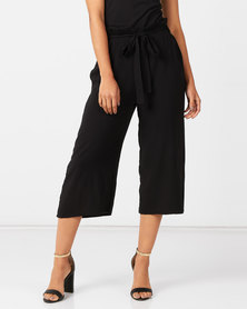 Utopia Wide Leg Trousers Black