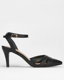 Bata Insolia Sling Back Dress Heel Black