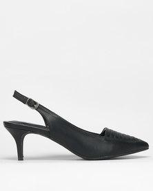 Bata Insolia Strap Dress Heels Black