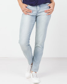 Utopia Light Wash Boyfriend Jeans Blue