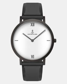 Kapten & Son Pure Lux Mesh Watch Grey
