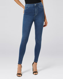 Forever New Madison High Rise Jegging Durban Blue