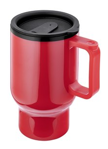 Always Summer Caffe Double walled Travel Cup Red