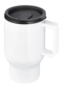 Always Summer Caffe Double walled Travel Cup white
